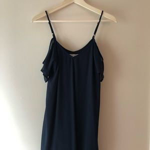 Abercrombie and Fitch off the shoulder sheer dress